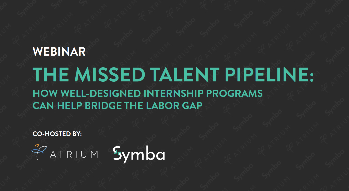 the missed talent pipeline title slide